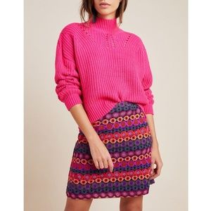 Hutch Embroidered Mini Skirt